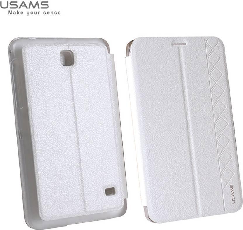 online retailer d661b 76679 Usmas Flip Cover for Samsung Galaxy Tab 4 7 inch - Usmas : Flipkart.com
