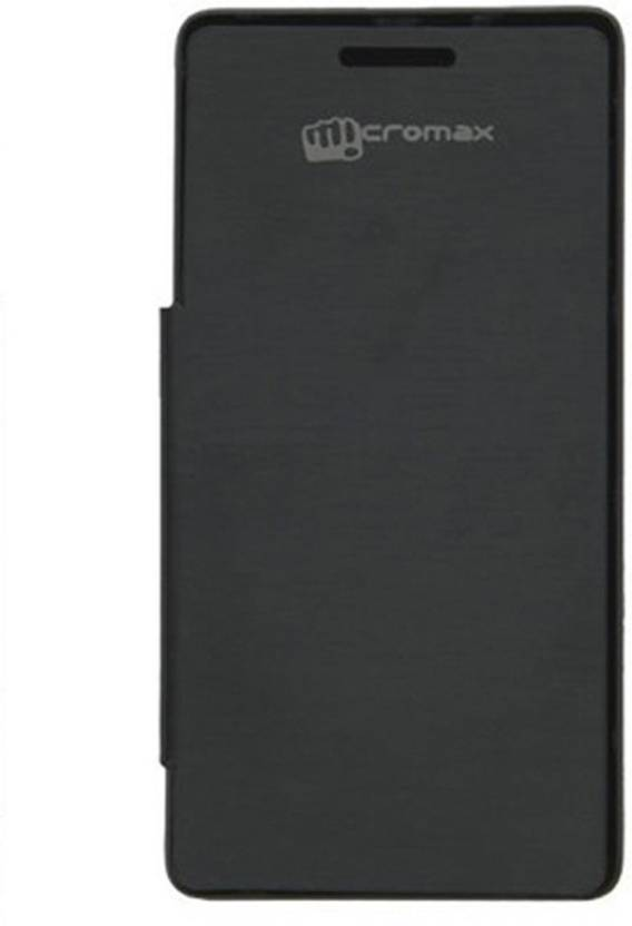 buy popular 785e8 3c37e Evoque Flip Cover for Micromax Canvas Doodle 3 A102