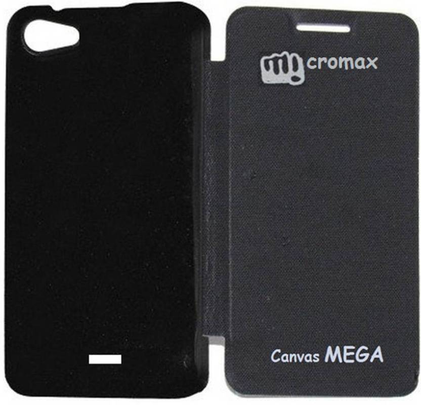 half off fdb8b 6fa19 Coverage Flip Cover for Micromax Canvas Mega E353