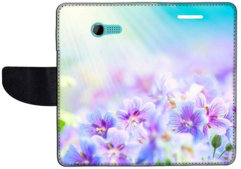 Muvit Flip Cover for Asus Zenfone 4