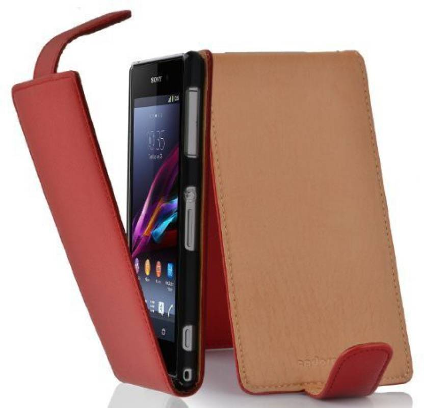 Cadorabo Flip Cover for Sony Xperia Z1