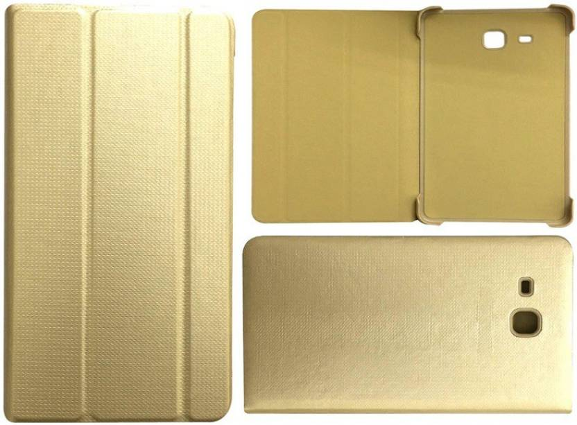 Colorcase Flip Cover for Samsung Galaxy J Max 7 inch Gold