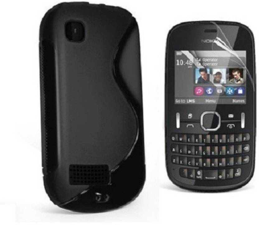 the latest 49369 fc263 S Case Back Cover for Nokia Asha 200