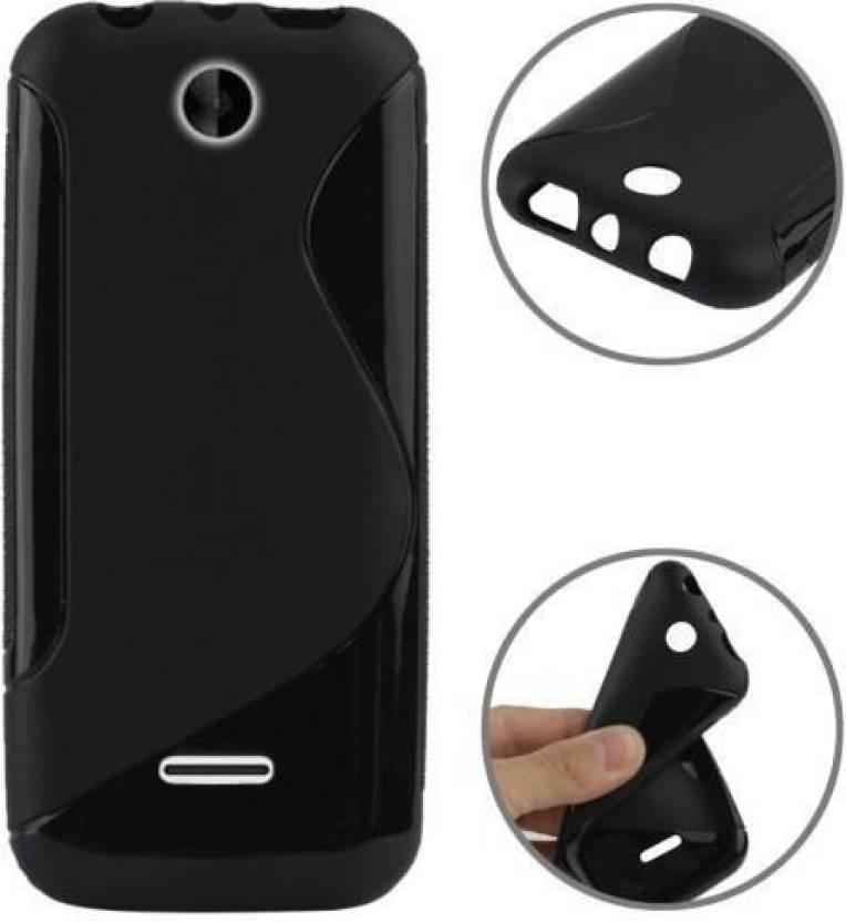 Newdort Grip Back Cover for Nokia Asha 225