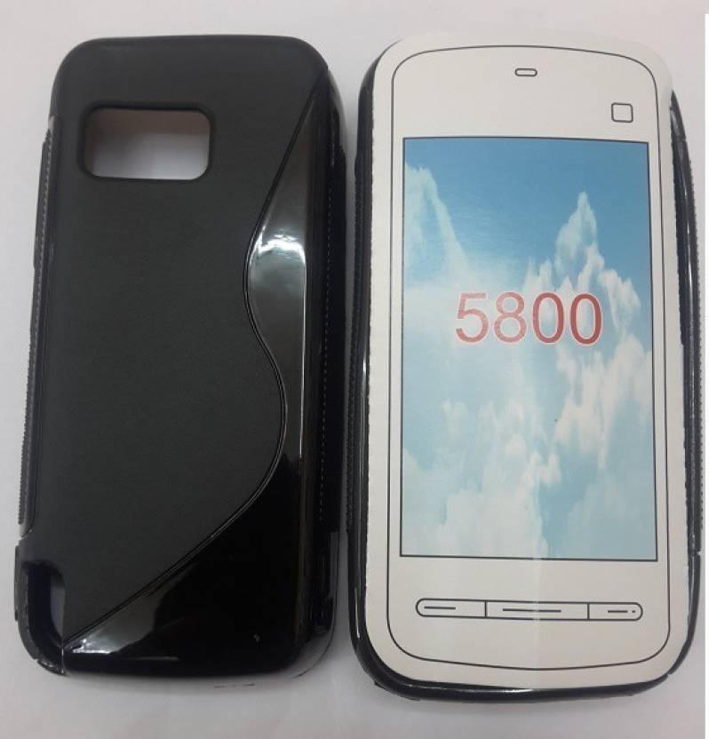 Newdort Grip Back Cover for Nokia 5800