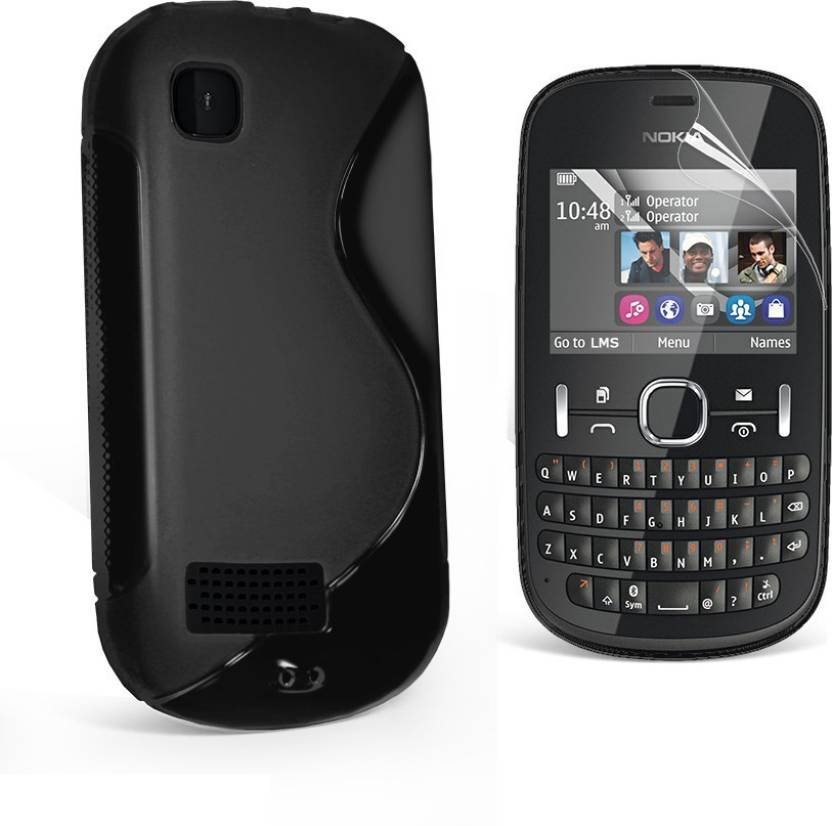new concept aa89d 89c87 Smartchoice Back Cover for Nokia Asha 200