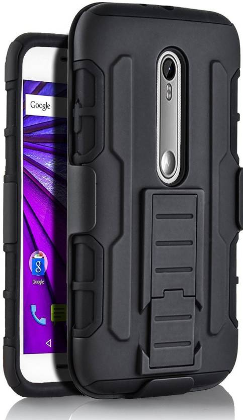 best service 1f43a 66d18 Armor Front & Back Case for Moto G3 (3rd Generation)