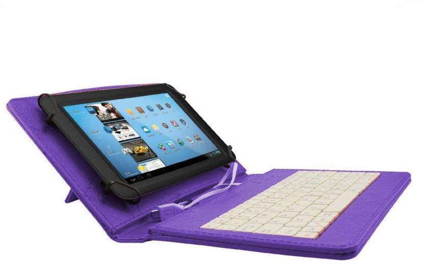 Gadget Decor Keyboard Case for Lava E-Tab Velo+ Tablet