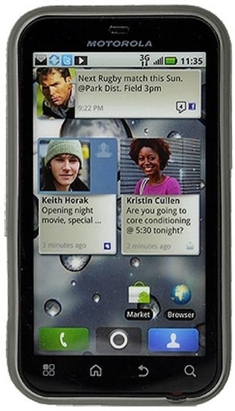Amzer Back Cover for Motorola DEFY Plus and Motorola DEFY