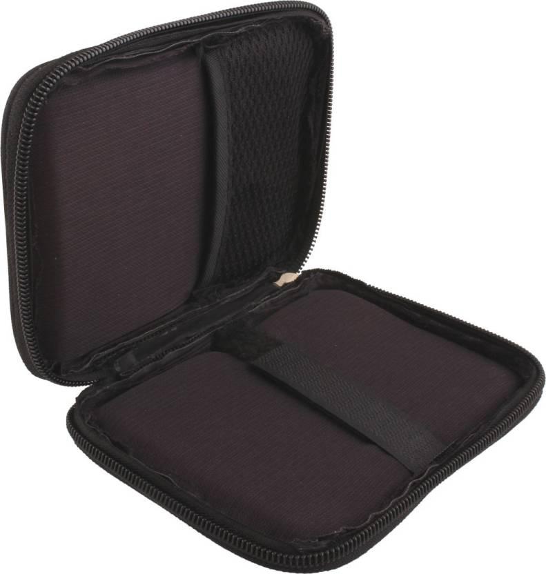 Generix Pouch for WD My Passport Ultra 2TB Portable External USB 3.0 Hard Drive (Black, Cloth)