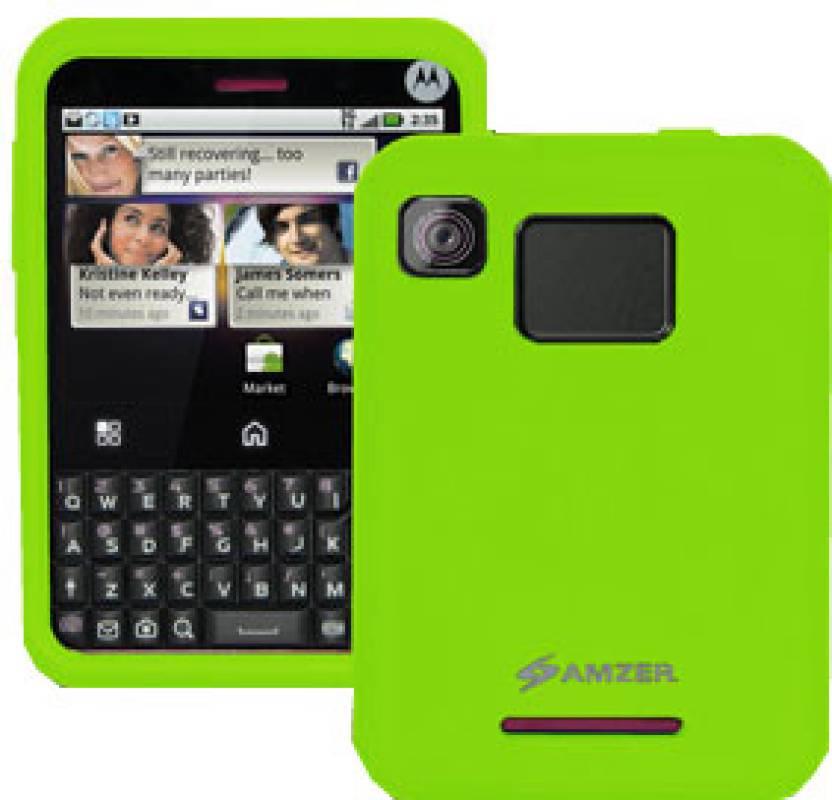 Amzer Back Cover For Motorola Charm MB502