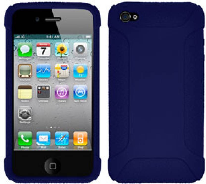 best website 807db 21c8a Amzer Back Cover for Apple iPhone 4s, Apple iPhone 4