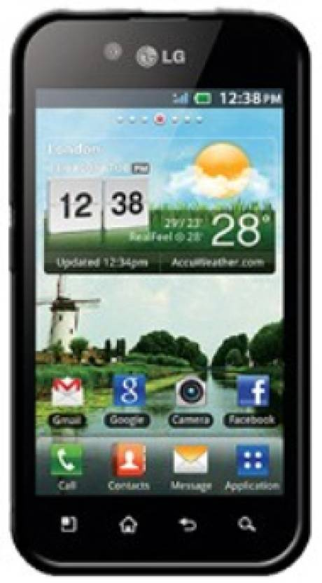Amzer Back Cover for LG Optimus