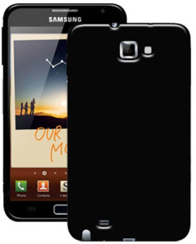 Amzer 92969 Soft Gel TPU Gloss Skin Case for Samsung Galaxy Note Black