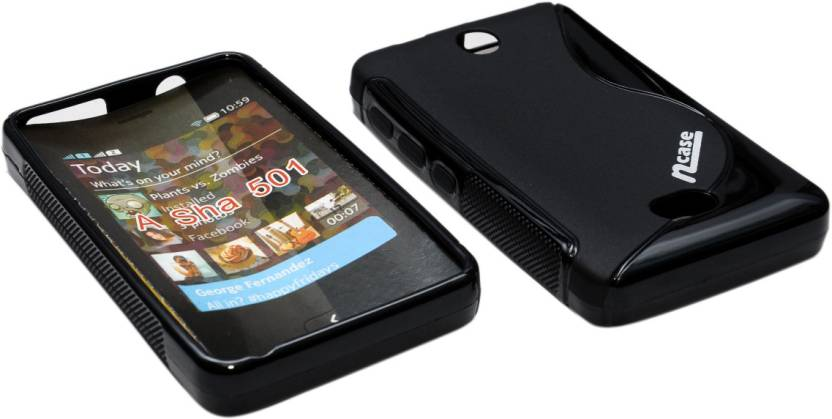 new style eb473 af7cf nCase Back Cover for Nokia Asha 501