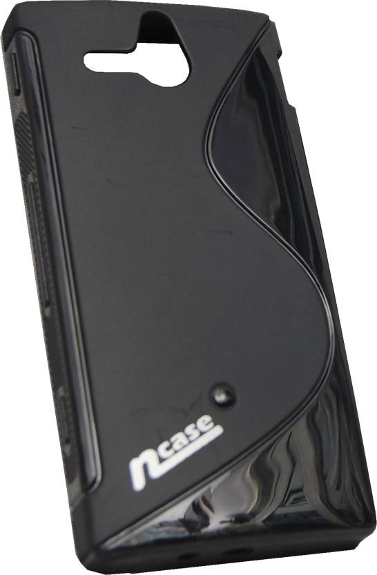 nCase Back Cover for Sony ST25i Xperia U (Black)