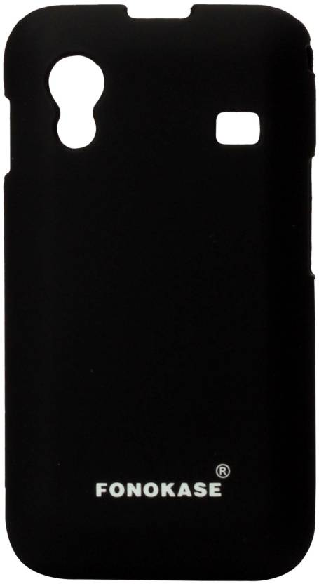 Fonokase Back Cover for Samsung Galaxy Ace (Black)