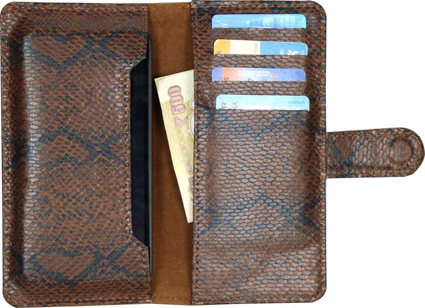 D.rD Wallet Case Cover for Spice Pinnacle Stylus ( Mi-550)