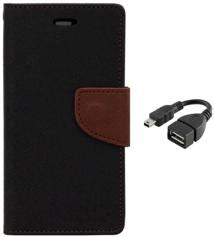Securemob Wallet Case Cover for Sony Xperia C