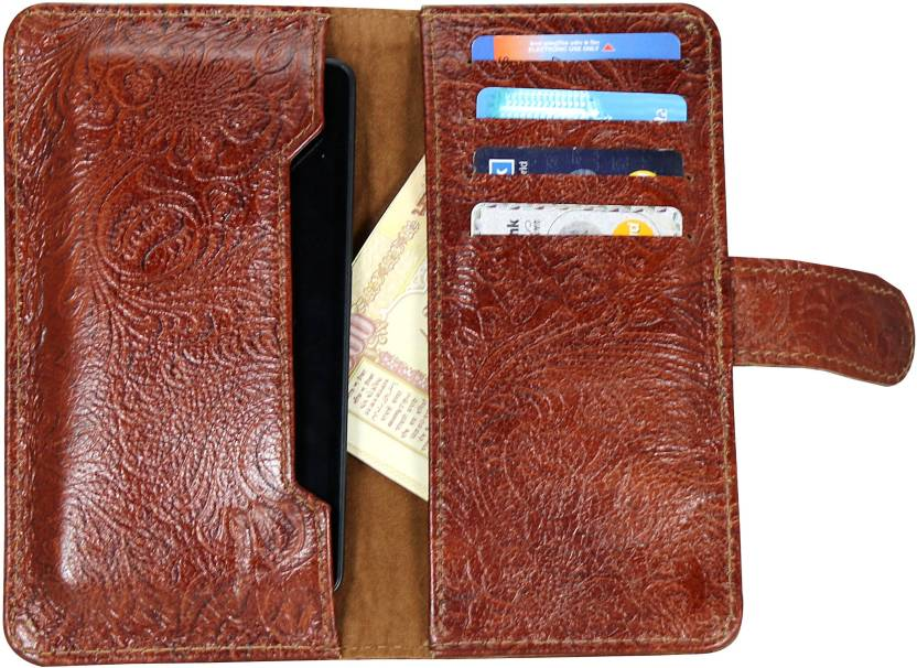D.rD Wallet Case Cover for Spice Pinnacle Pro (Mi-535)