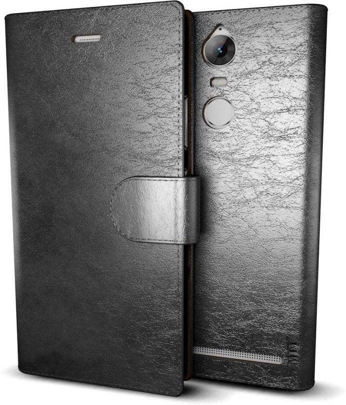 new product e9573 f063e MTT Wallet Case Cover for Lenovo Vibe K5 Note