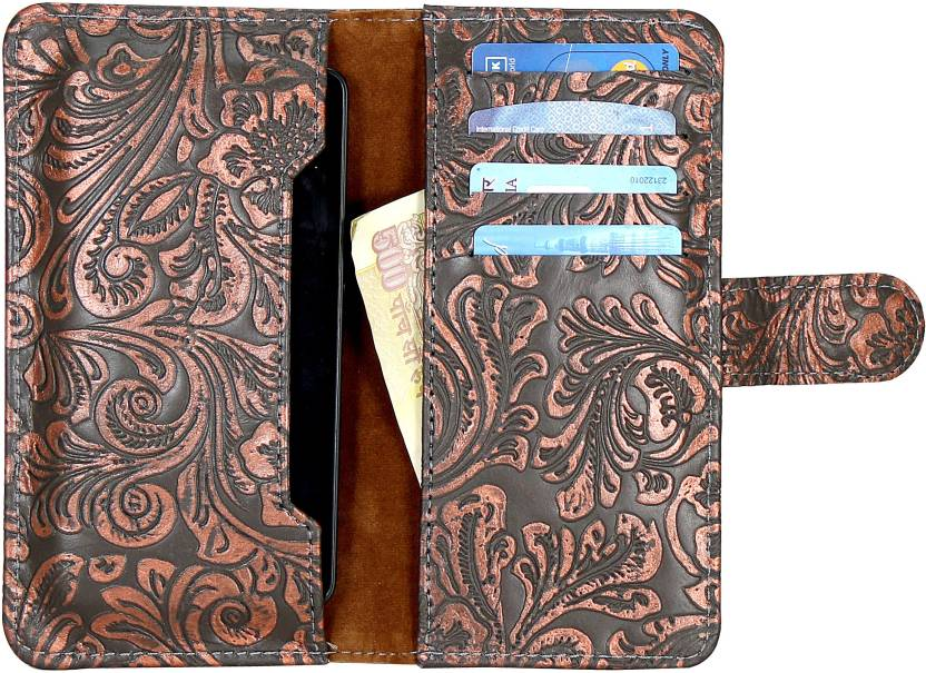 D.rD Wallet Case Cover for Spice Stellar Mi-600