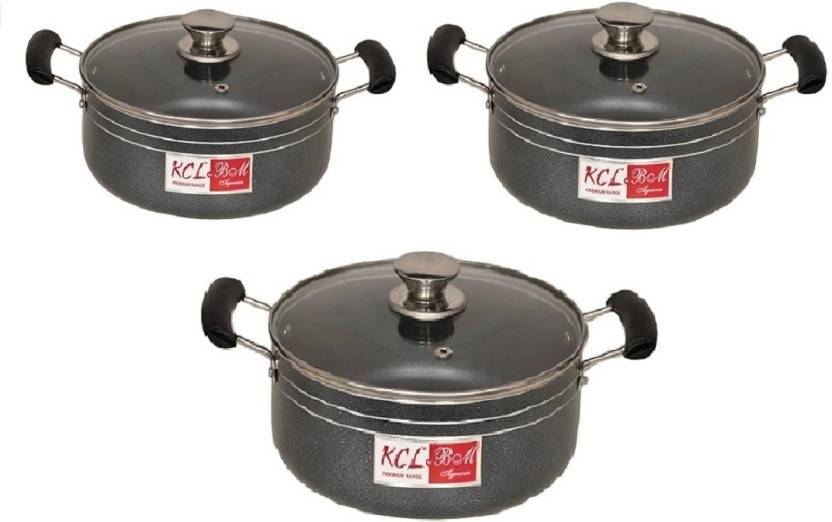 KCL Leo Combo Pack of 3 Cook and Serve Casserole Set 14 L
