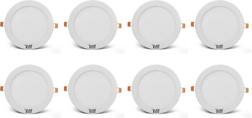 Imperial 12 Watt LED Panel light (Round, Cool White,6000