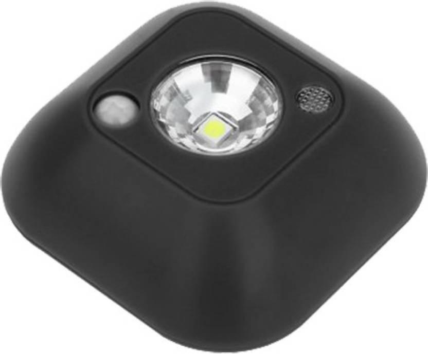 Bonzeal Mini Wireless Motion Sensor Ceiling Battery Powered Led