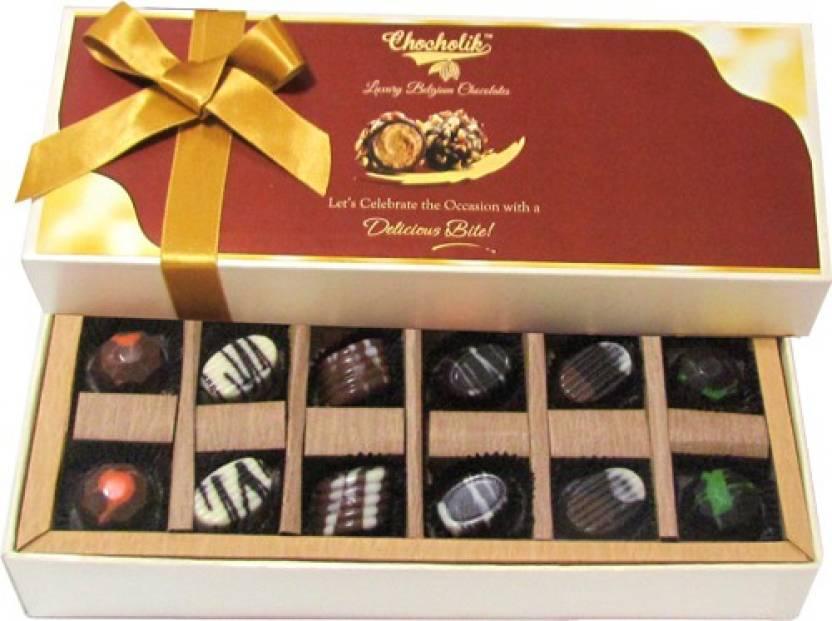 Chocholik 12pc Beautiful Tempting Luxury Chocolate Truffles Price In