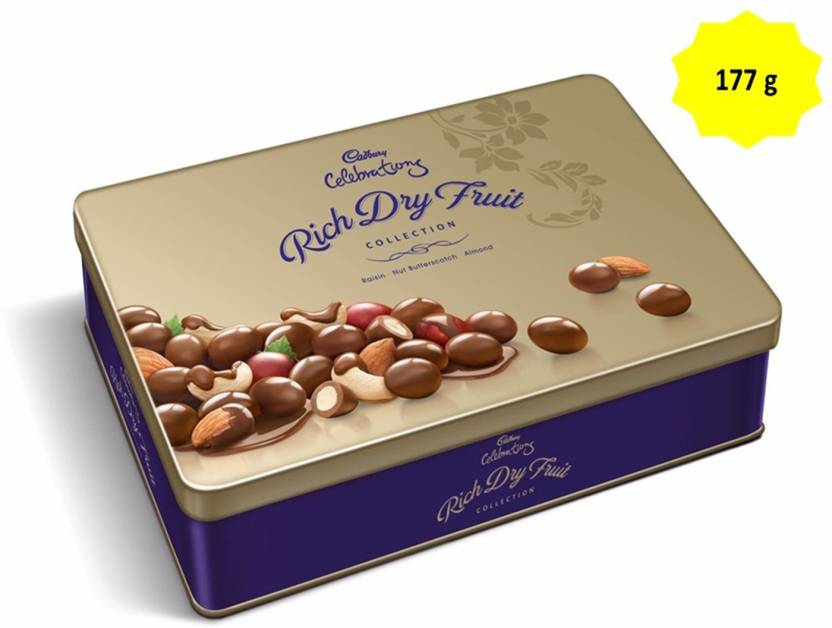 Cadbury celebrations rich dry fruit gift pack 177 gm chocolate bars cadbury celebrations rich dry fruit gift pack 177 gm chocolate bars thecheapjerseys Images