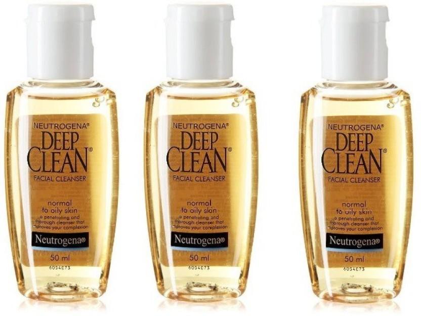 Cleanser facial deep nuetrogena clean