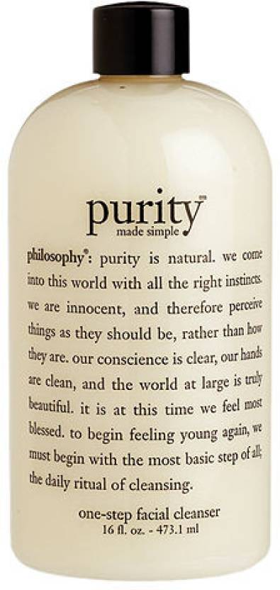 Purity Made Simple Cleanser by philosophy #12