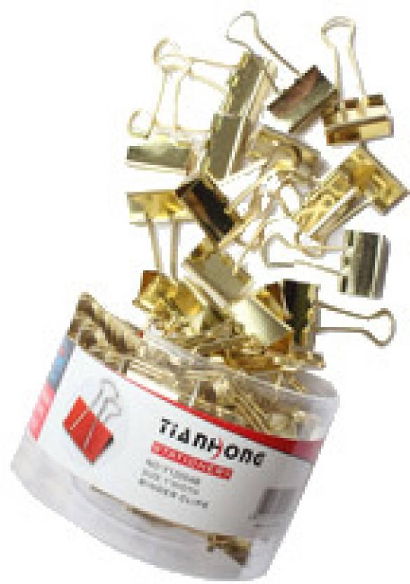 Yihai Gold Plated Binder Clip