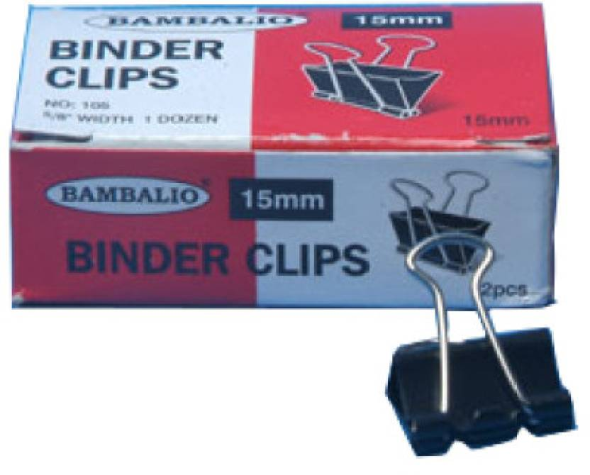 Bambalio Binder Clip