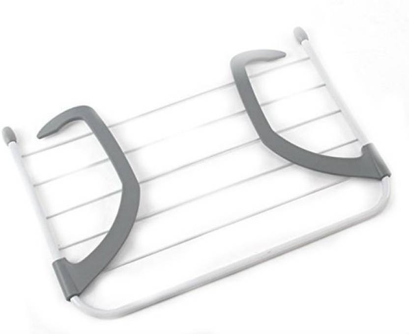 Shrih Foldable Wall Hanging Rack Steel Wall Cloth Dryer Stand Price