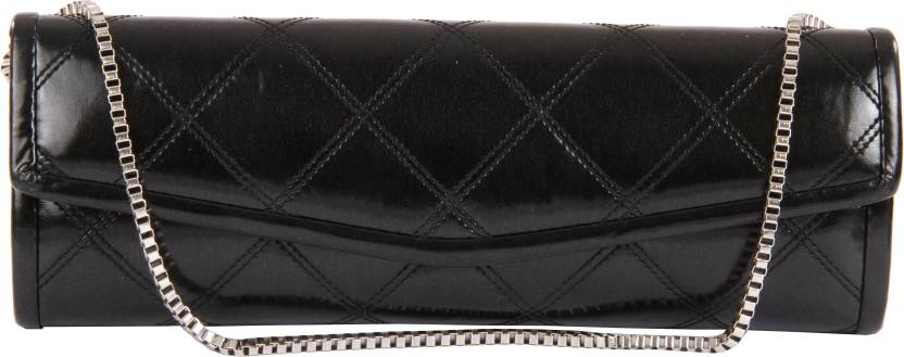 Satya Paul Women Black  Clutch