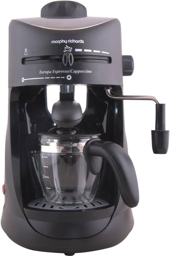 Filter Coffee Maker Flipkart : Morphy Richards Europa Espresso / Cappuccino 4 Cups Coffee Maker Price in India - Buy Morphy ...
