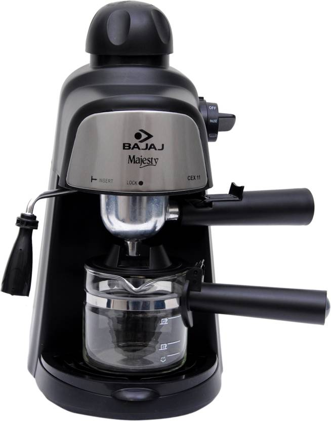 Bajaj Majesty CEX11 4 Cups Coffee Maker (Black)