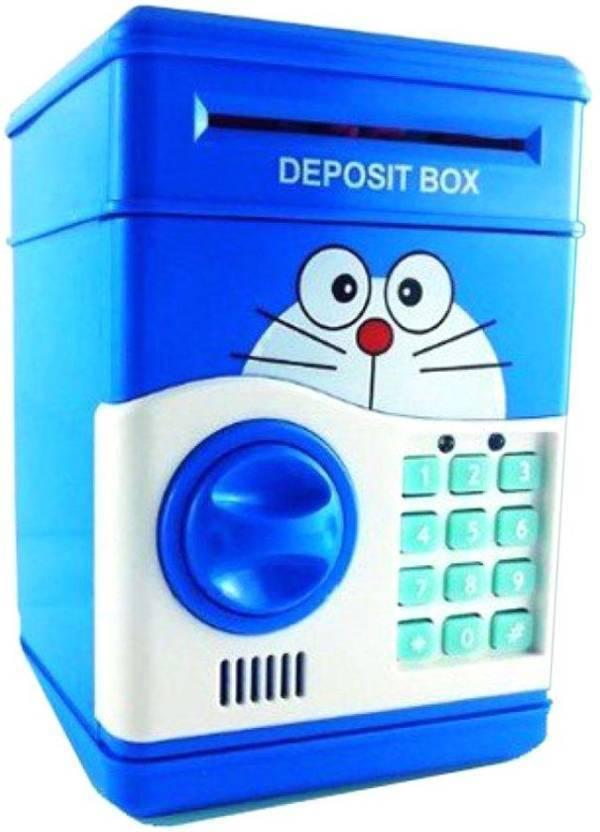 64d3124dc ARN Doraemon Safe bank cum piggy bank Coin Bank Price in India - Buy ...