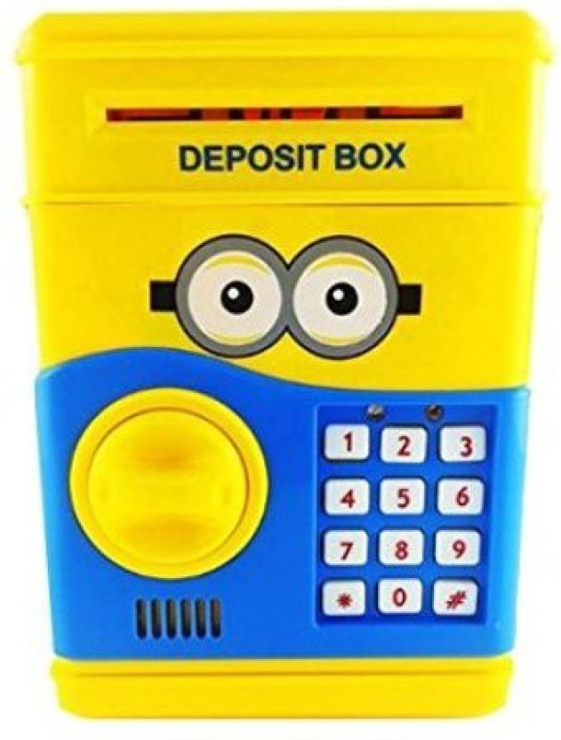 Amayra Toy Electronic Atm Cum Piggy Bank For Kids .. Coin Bank