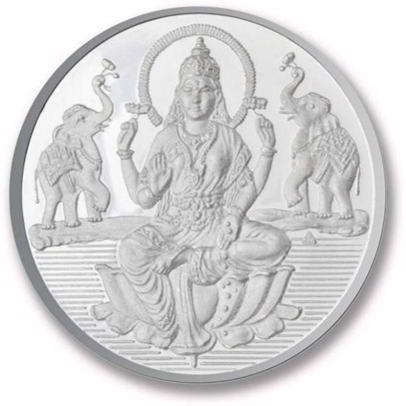 P N Gadgil Jewellers Laxmi Shree S 999 25 G Silver Coin