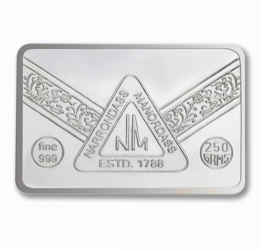 P N Gadgil Jewellers N M Chip S 999 250 G Silver Bar Price In India