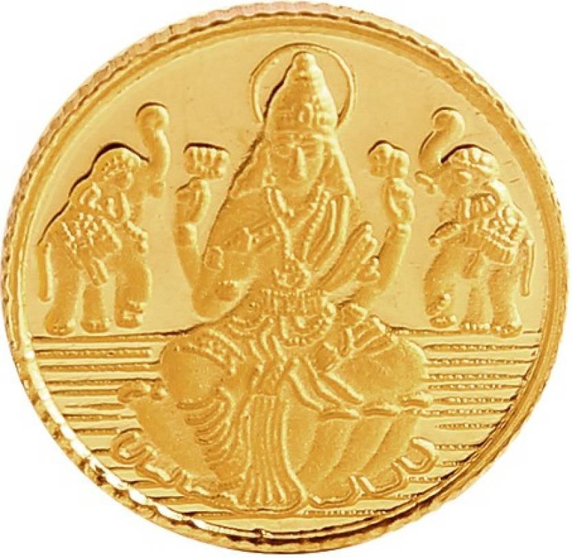 Bangalore Refinery Lakshmi Coin 24 (999) K 1 g Gold Coin