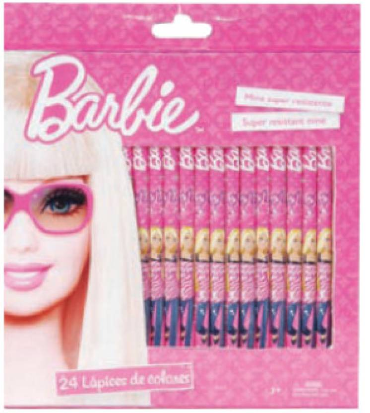 Barbie Color Pencil