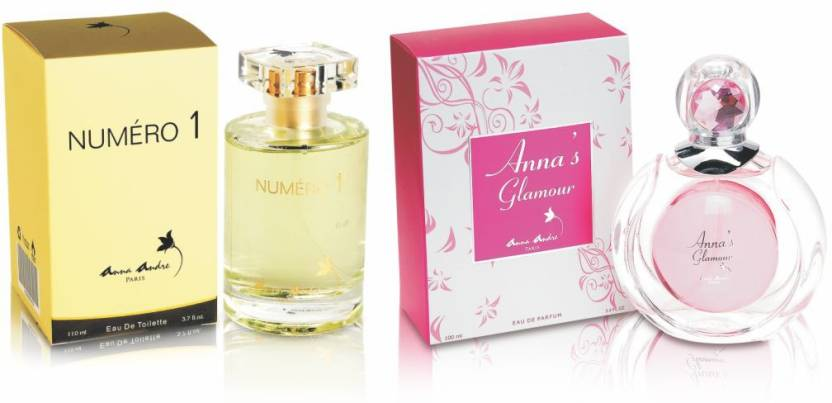 Anna Andre Paris Set of Numero I EDT & Anna's Glamour EDT Gift Set
