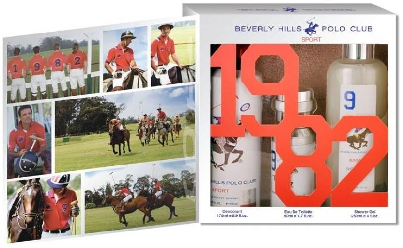 Beverly Hills Polo Club BHPC Sports No.9 3 Piece Giftset Gift Set