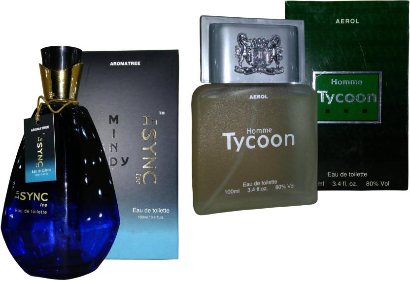 Aroma Tree Insync Ice And Homme Tycoon Perfume Set Combo Set Buy