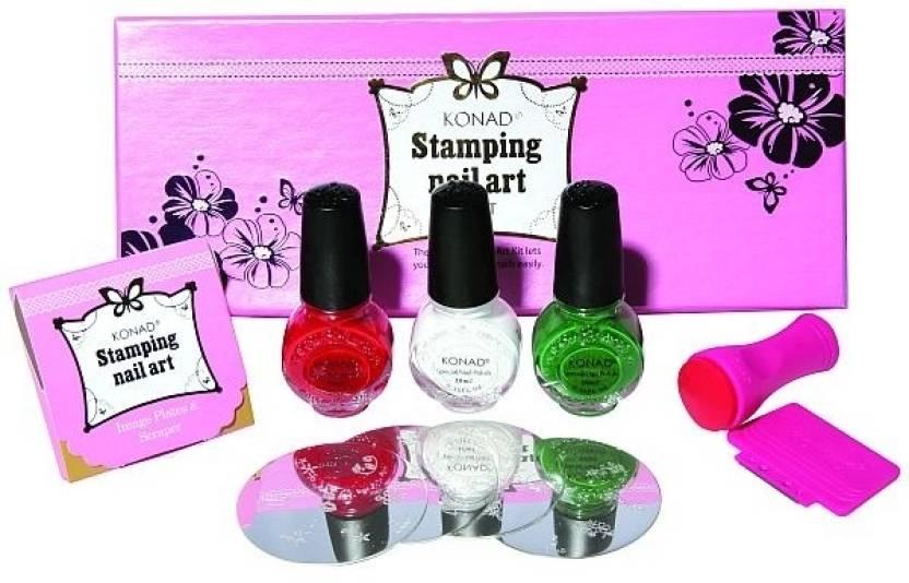 Konad Stamping Nail Art Kit - Set B Price in India - Buy Konad ...