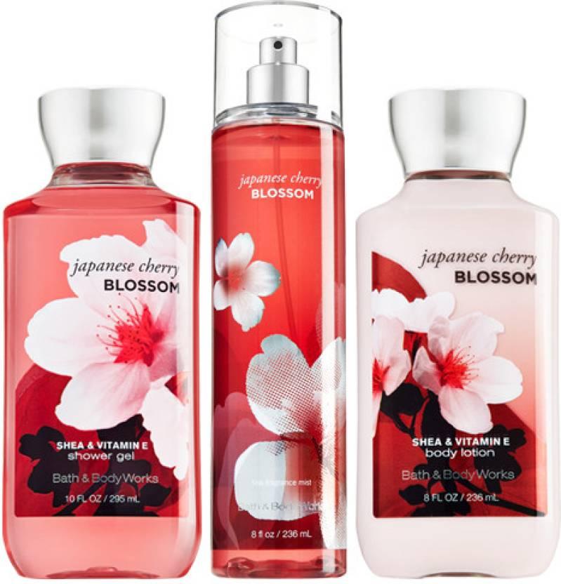 Bath Body Works Japanese Cherry Blossom Price In India Buy Bath